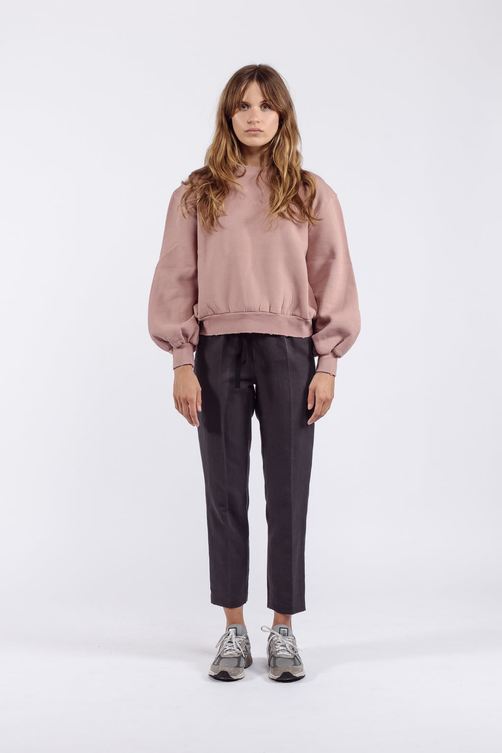 Clemence Sweatshirt | Old Rose