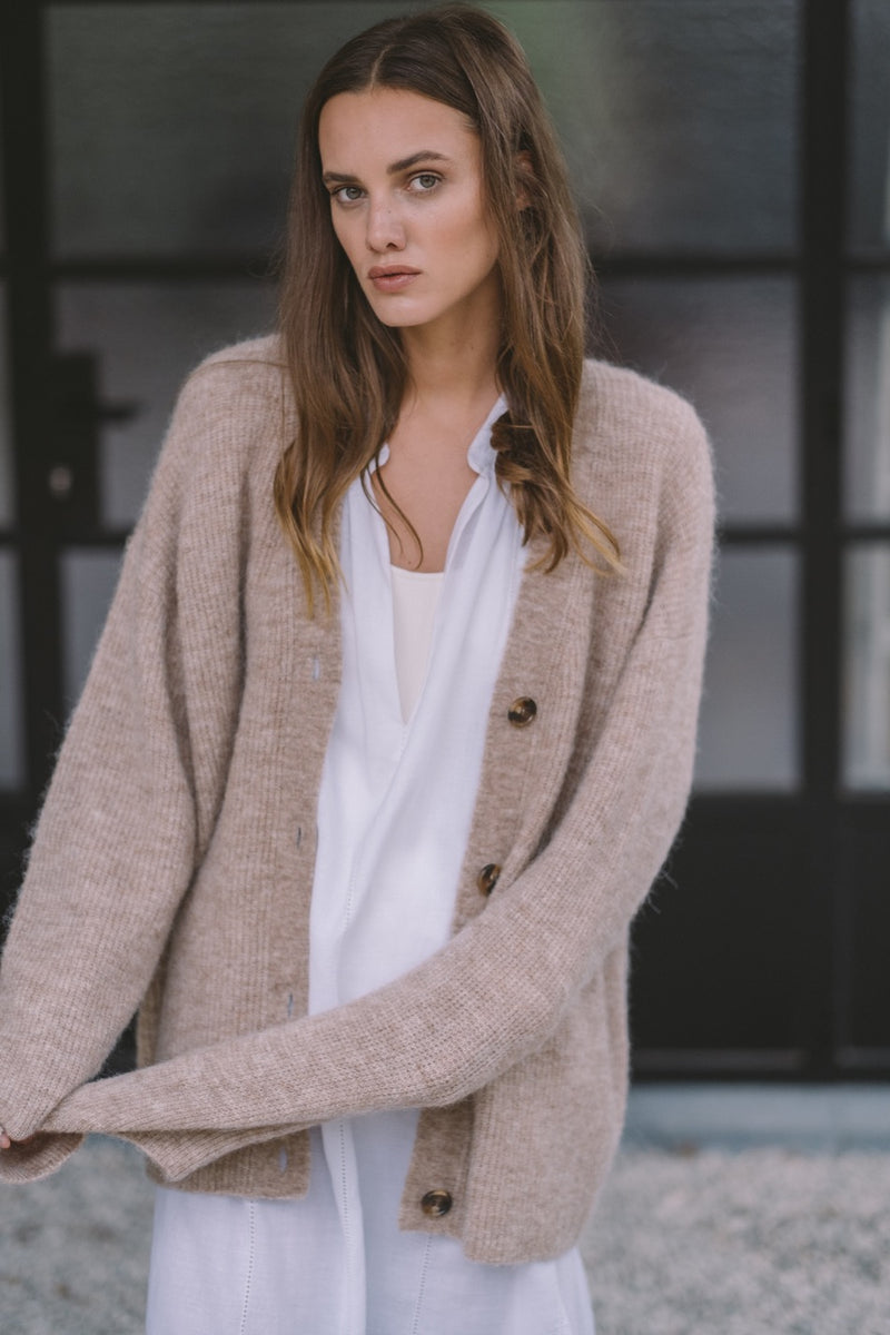 Demy Cardigan | Biscuit