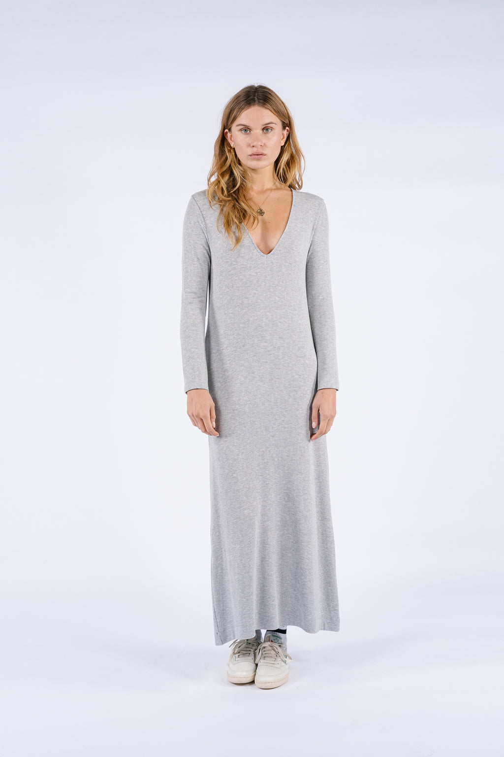 Doug Dress | Light Grey
