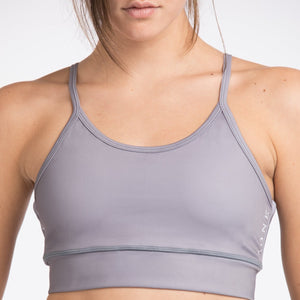 POWERFUL - SPORTSBRA grey