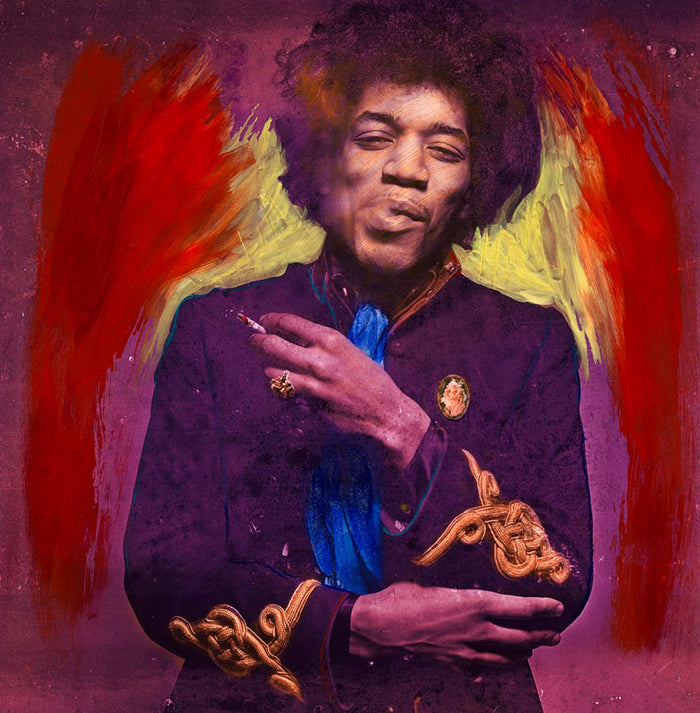 Hendrix - Smoking Purple Yellow