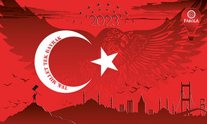 Fahne Turkey 2023