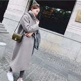 2018 New Winter Warm High Quality Windbreaker Trench Coat