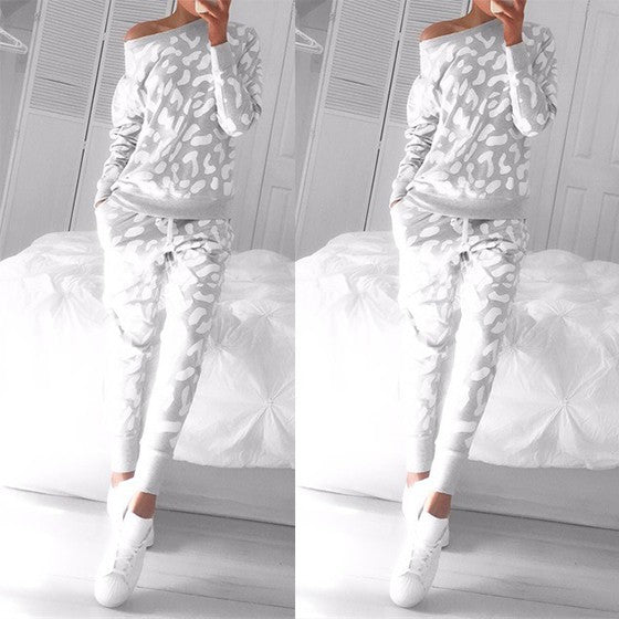 Grey Floral 2-in-1 Drawstring Mid-rise Casual Long Jumpsuit