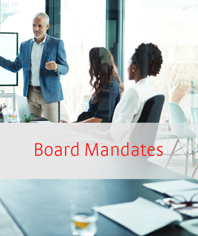 My Board Mandates - Newcareer