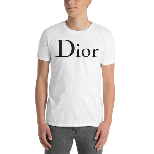 Branded  T shirt White Dior Brand T shirt Short-Sleeve Cotton T shirt for Men