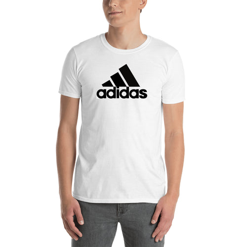 Adidas T shirt Adidas Branded T shirt White Half Sleeve Cotton T shirt for men