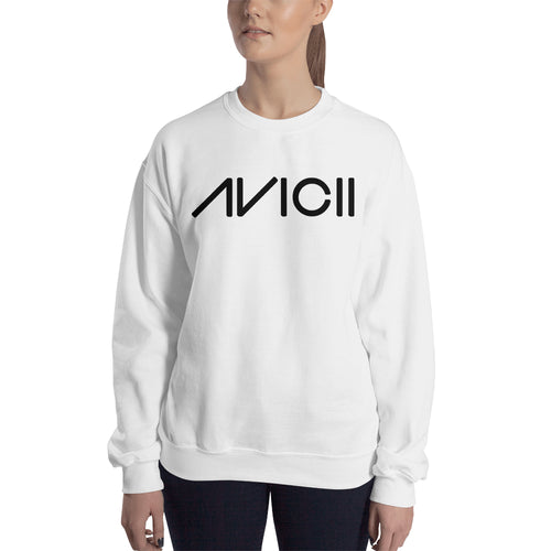 Avicii Sweatshirt Music DJ Sweatshirt white Full-sleeve Sweatshirt for women