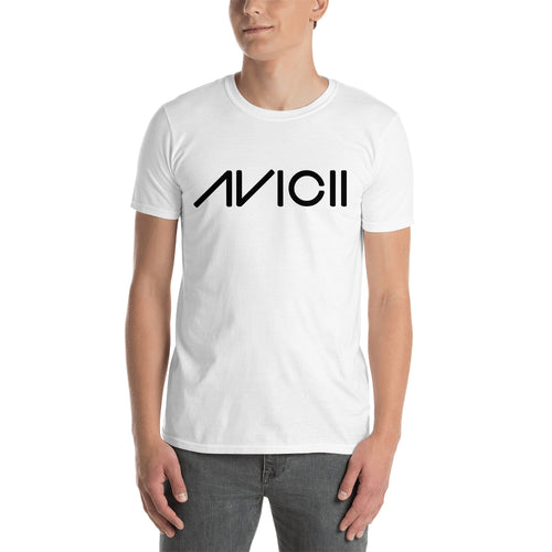 Avicii T shirt Music DJ T shirt white Short-sleeve Cotton T shirt for men