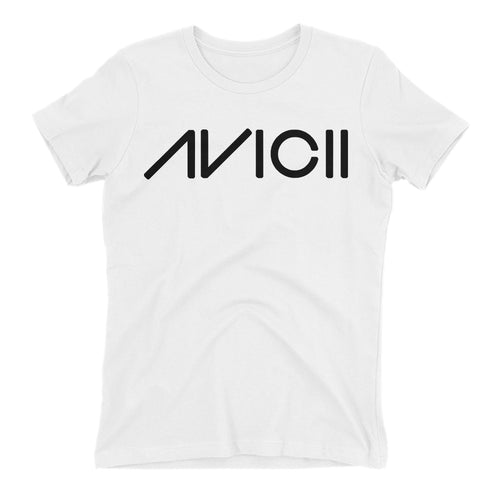 Avicii T shirt Music DJ T shirt white Short-sleeve Cotton T shirt for women