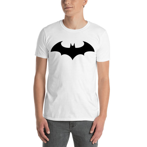 Batman T shirt cool Batman Logo T shirt Cotton White Half Sleeve T shirt for men