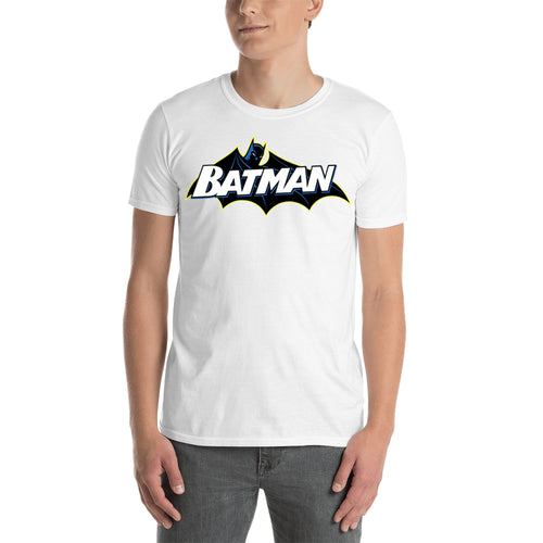 Batman T shirt Cool Super Hero T shirt Cotton White Half Sleeve T shirt for men