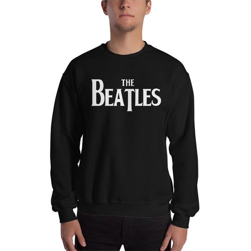 The Beatles Sweatshirt Music Band Sweatshirt Black Full-sleeve Band Sweatshirt for men