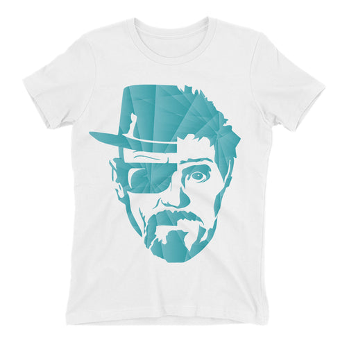 Breaking Bad t shirt TV series t shirt White short-sleeve Cotton Walter White t shirt for women