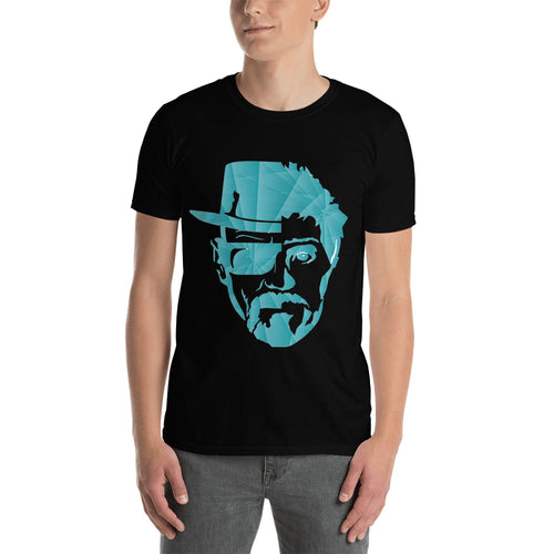 Walter White t shirt Jesse Pinkman t shirt Black short-sleeve Cotton TV series t shirt for men