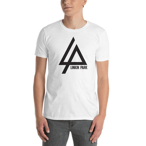 Linkin Park Logo T shirt Linkin Park T shirt Short-sleeve White Cotton T shirt for men