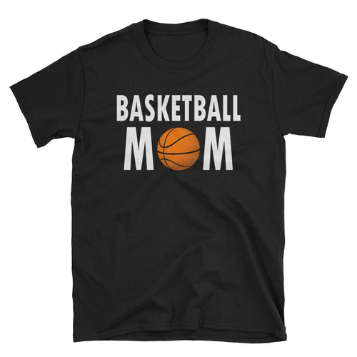 Basketball Mom T Shirt Black Short-Sleeve Unisex Basketball Mom T Shirt - Dafakar