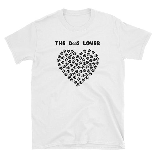 The Dog Lover T Shirt White Animal Pet Lover T Shirt for Men - Dafakar
