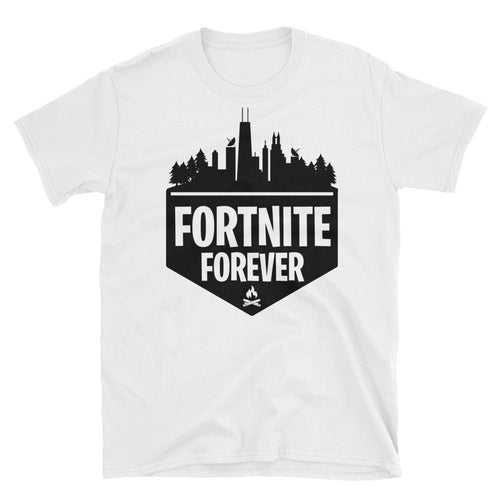 Fortnite T Shirt White Fortnite Forever Gaming T Shirt for Geek Women