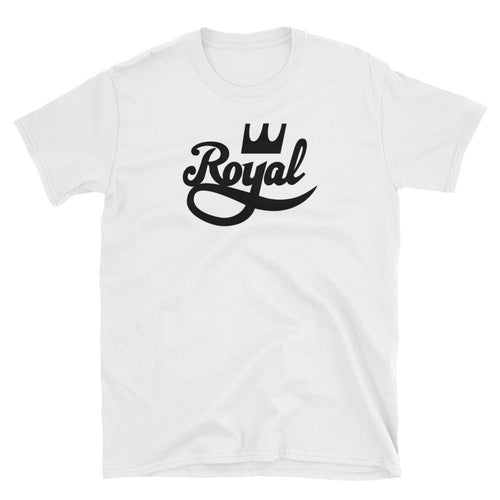 Royal T Shirt White 100% Cotton Half Sleeve Royal T Shirt for Men - Dafakar