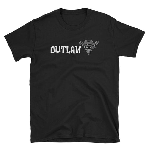 Outlaw T Shirt Black Outlaw One Word T Shirt for Women
