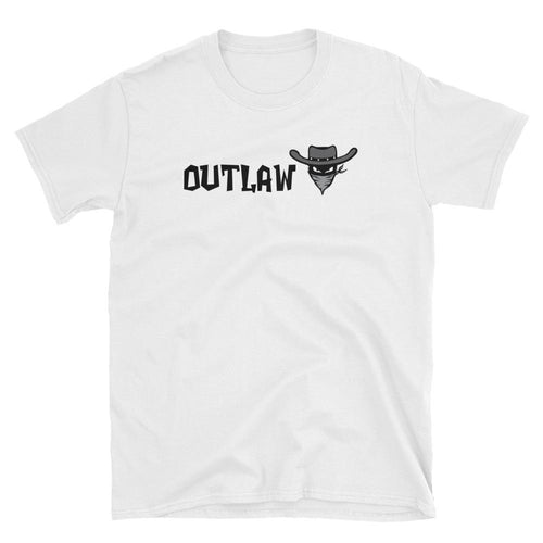 Outlaw T Shirt White Outlaw One Word T Shirt for Women
