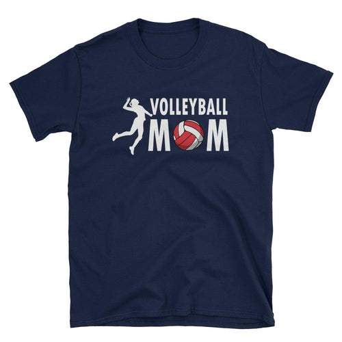Volleyball Mom T Shirt Navy Volleyball Slam Dunk T Shirt Mother's Day Gifts Volley Ball T Shirt - Dafakar
