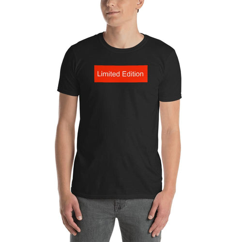 Limited Edition T Shirt Black Limited Edition T-Shirt for Men
