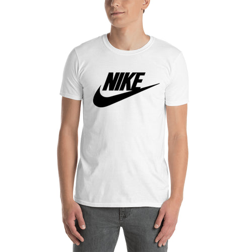 Nike T shirt Nike Logo T shirt White Half Sleeve Cotton T shirt for men
