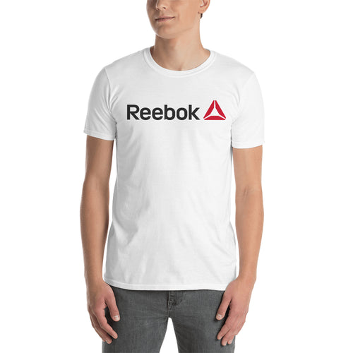 Reebok T shirt White Reebok Logo T shirt Cotton Short-sleeve T shirt for men
