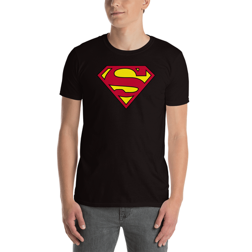 superman t shirt black color for men