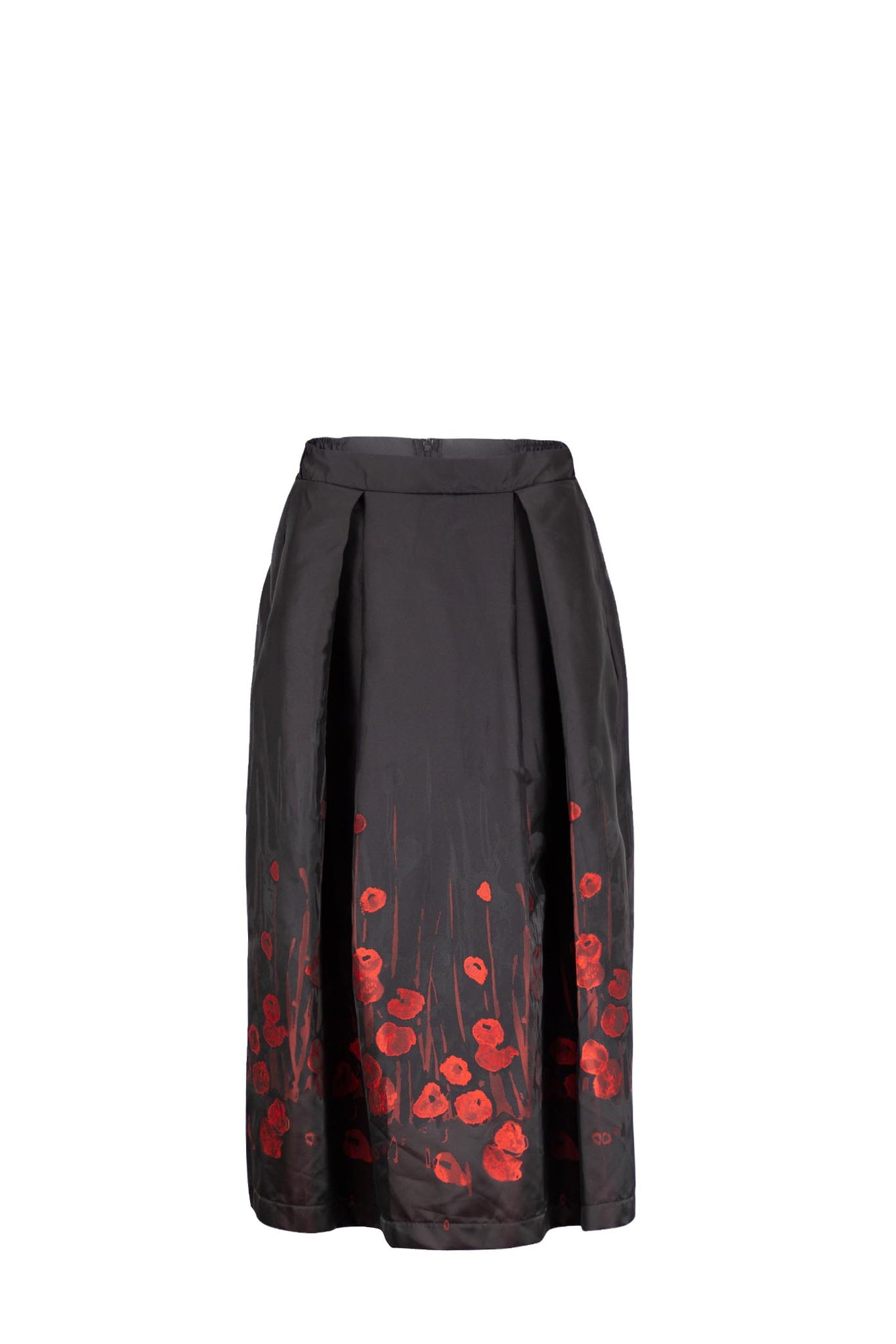 HARRY Black Red Floral