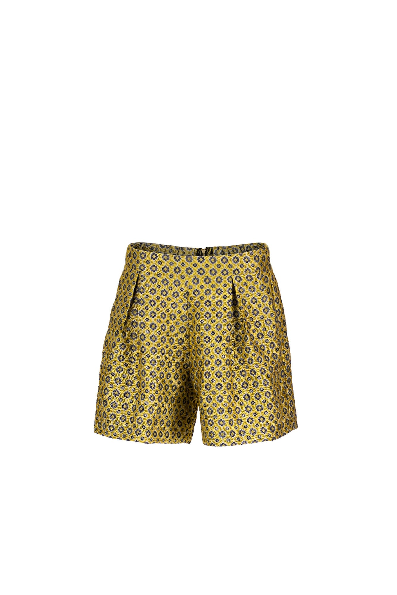 PORTIA Yellow jacquard