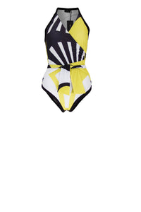 CHAD Swimsuit Citroen print