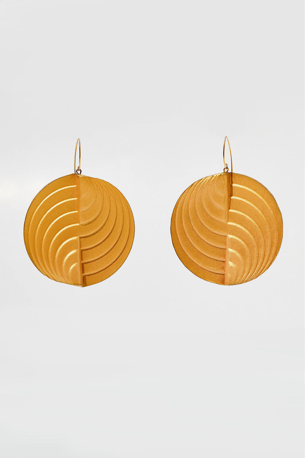 Circle Earrings Gold