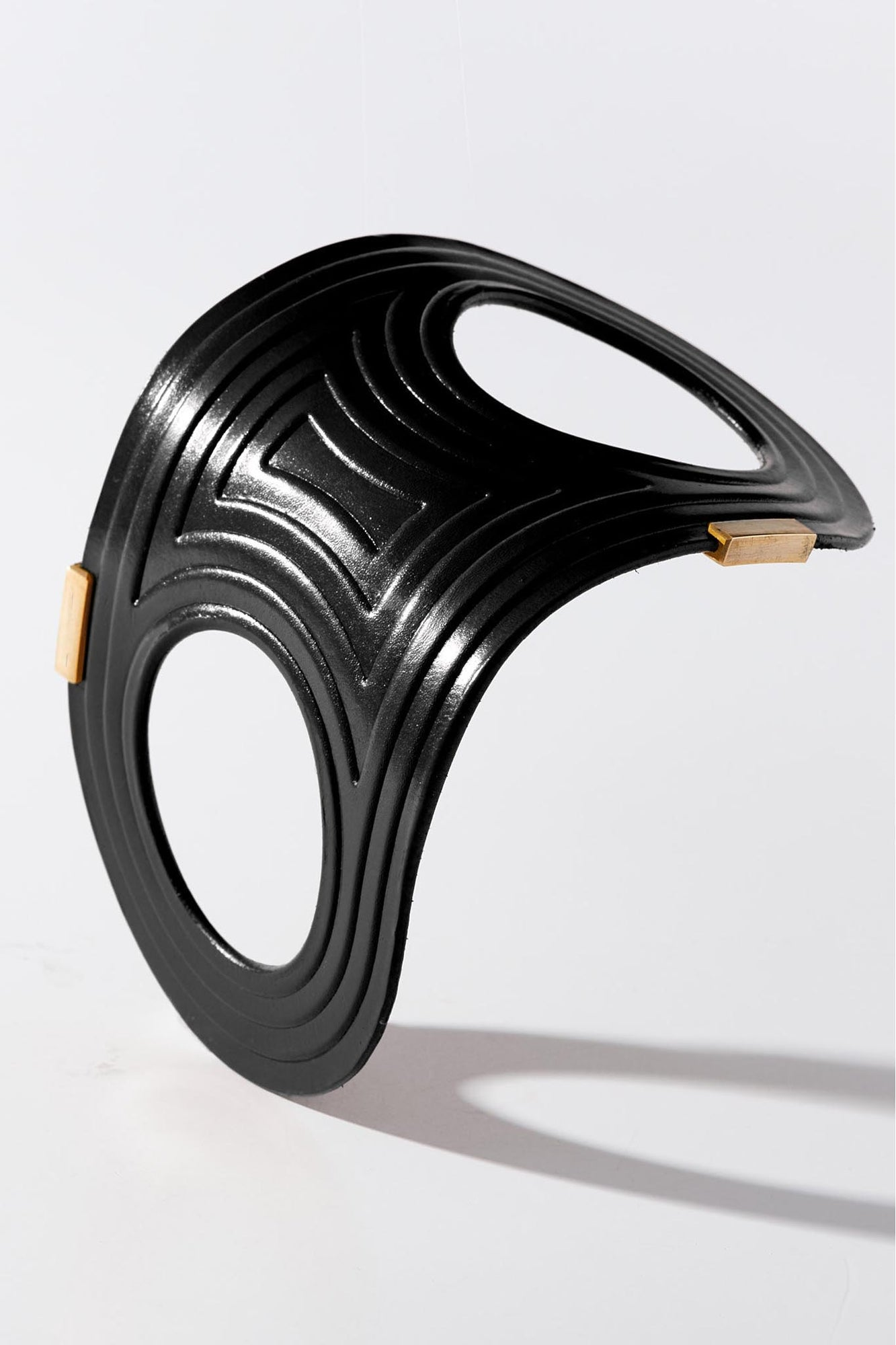 Linear Bangle Black