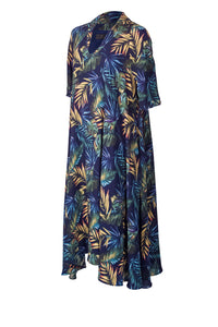 LILO-B Navy jungle print