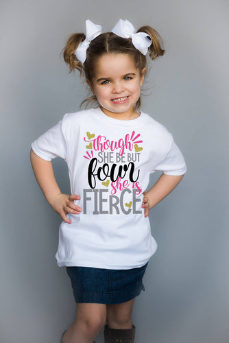 Four Fierce Birthday Top