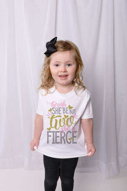 TWO Fierce Birthday Shirt