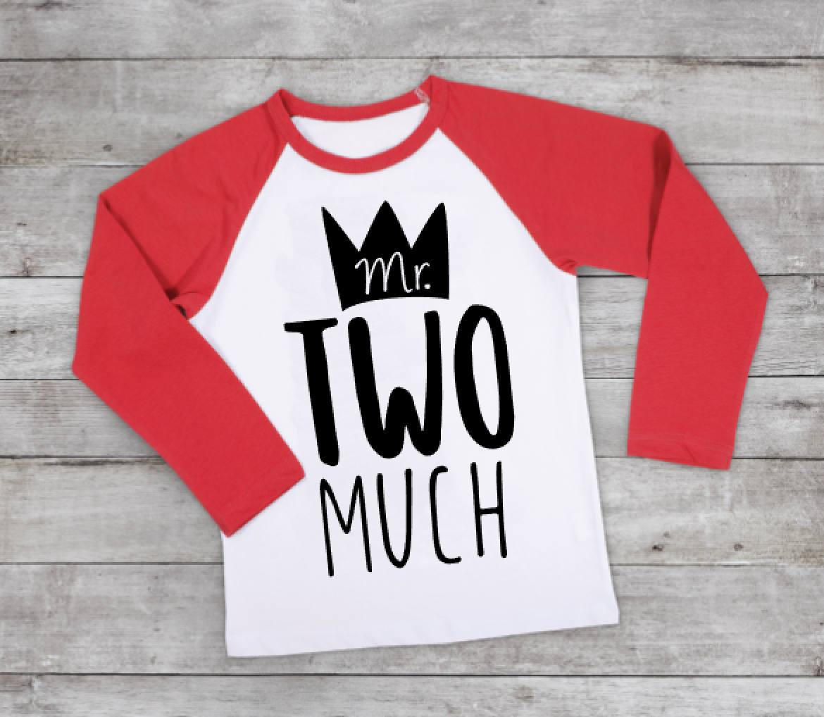 3b5ad62e3947f Boys Two Birthday Shirt - Mr TWO Much - 2nd Birthday Shirt Boy - Two Year  Old Gift - 2nd Birthday Outfit - Boys Cool T Shirt