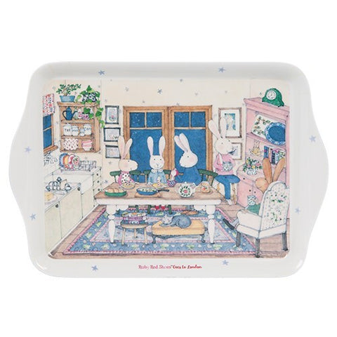 Ruby Red Shoes London Supper Scatter Tray in Melamine