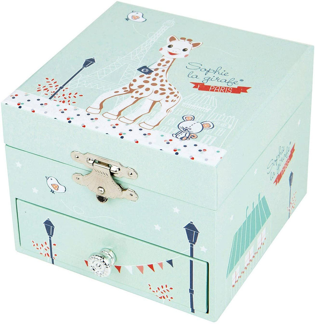 Sophie La Girafe Paris Musical Cube Box