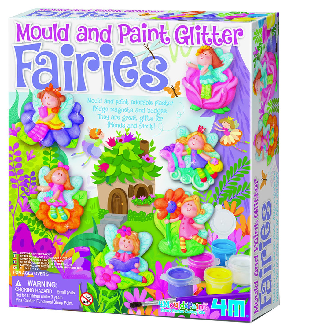 Johnco Mould & Paint Glitter Fairy