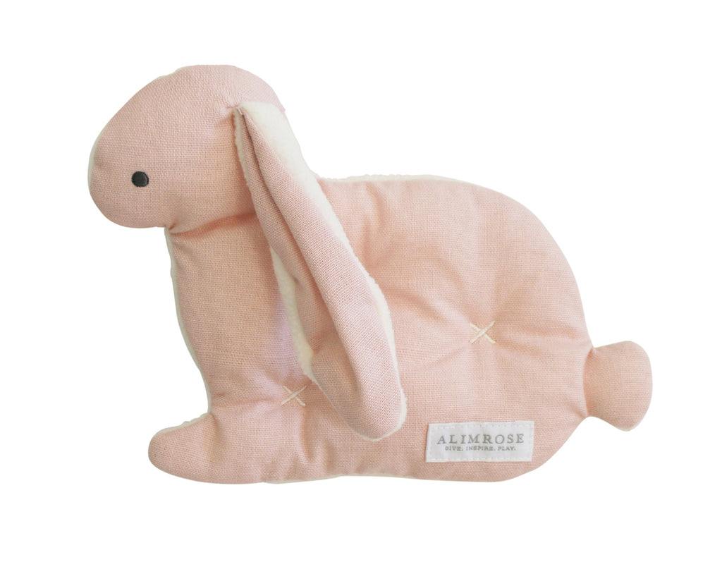 Toby Bunny Comfort Toy in Pink