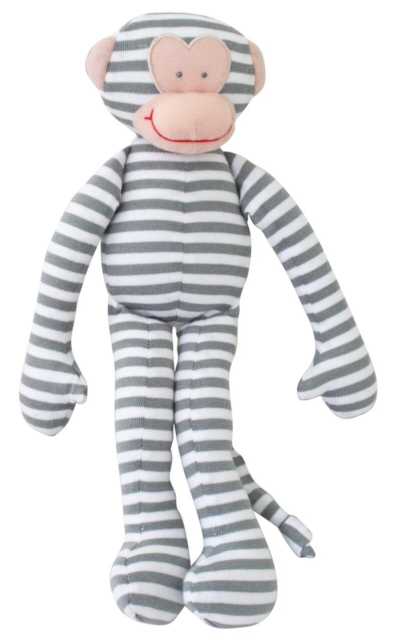 monkey rattle grey stripe