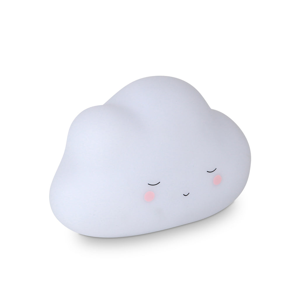 Night Light - Little Cloud in White Colour Battery Operated