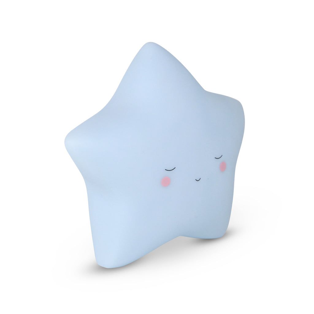 Night Light - Little Dream Star in Baby Blue Colour, Battery Operated