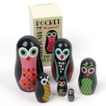 Owl Nesting Dolls by Omm Design
