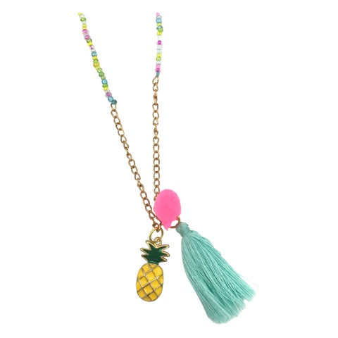 Kids Necklace - Pineapple
