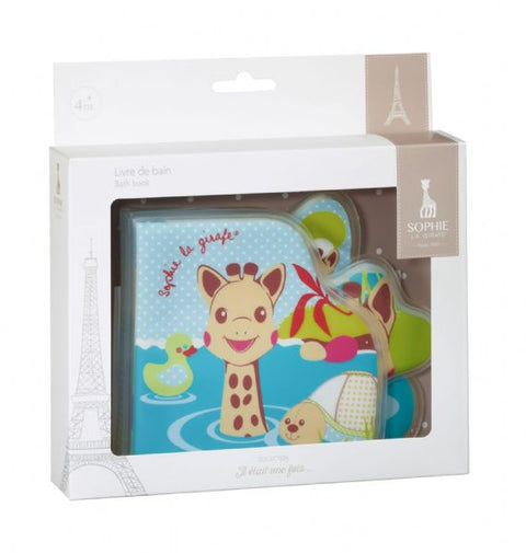 Sophie La Girafe Bath Book in Gift Box